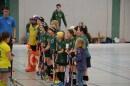 Begrüßung der Spielerinnen des SV Tresenwald