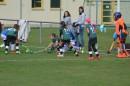 Schusskreisszene vor dem eigenen Tor im Spiel gegen Jena