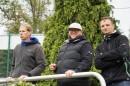 Der Trainer und die Betreuer
