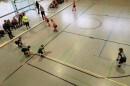 Die D-Mädchen im Spiel gegen Rotation