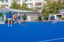 Sortierte Abwehr im Spiel gegen den SSC Jena