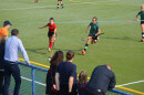 Im Spiel gegen den ESV Dresden wurde um jeden Ball gekämpft