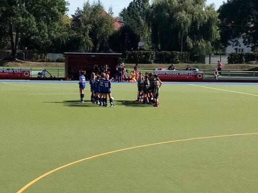 Nachdem die D- und C-Mädchen bereits am Samstag mit deutlichen Siegen die Messlatte hochgelegt hatten, kamen am Sonntag auch die B-Mädchen des EHC zum Einsatz.