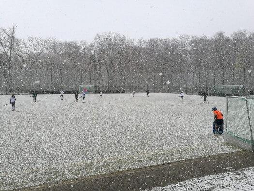 Der Erfurter Hockey Club erfolgreich beim winterlichen Straußberg Cup 2019