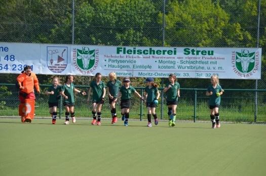 Die C-Mädchen 2019 des Erfurter HC - nicht nur körperlich eine harmonische Truppe!