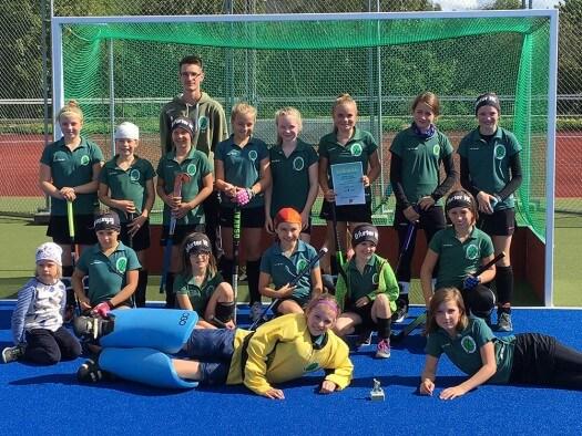 Mädchen B gewinnen Mitteldeutschen Pokal