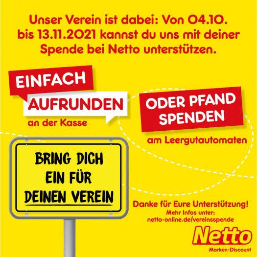 Netto-Spendenaktion