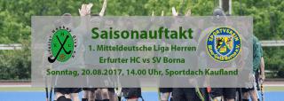 Saisonauftakt: Erfurter Hockey Club e.V. gegen SV Blau-Gelb Borna