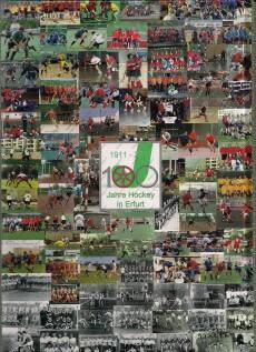 "Rückseite Chronik: ""100 Jahre Hockey in Erfurt"""