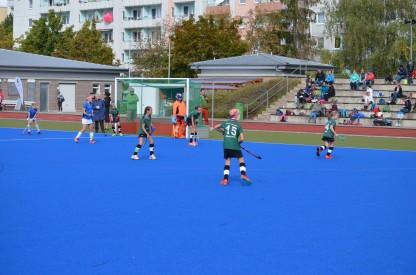 Im Spiel gegen des SSV Jena begannen die Erfurterinnen zunächst gut sortiert.