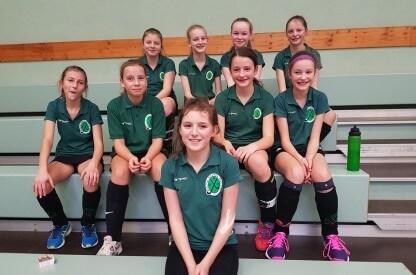 Mannschaftsfoto Mädchen B