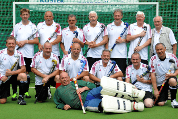 Mannschaftsfoto Senioren Feldhockey